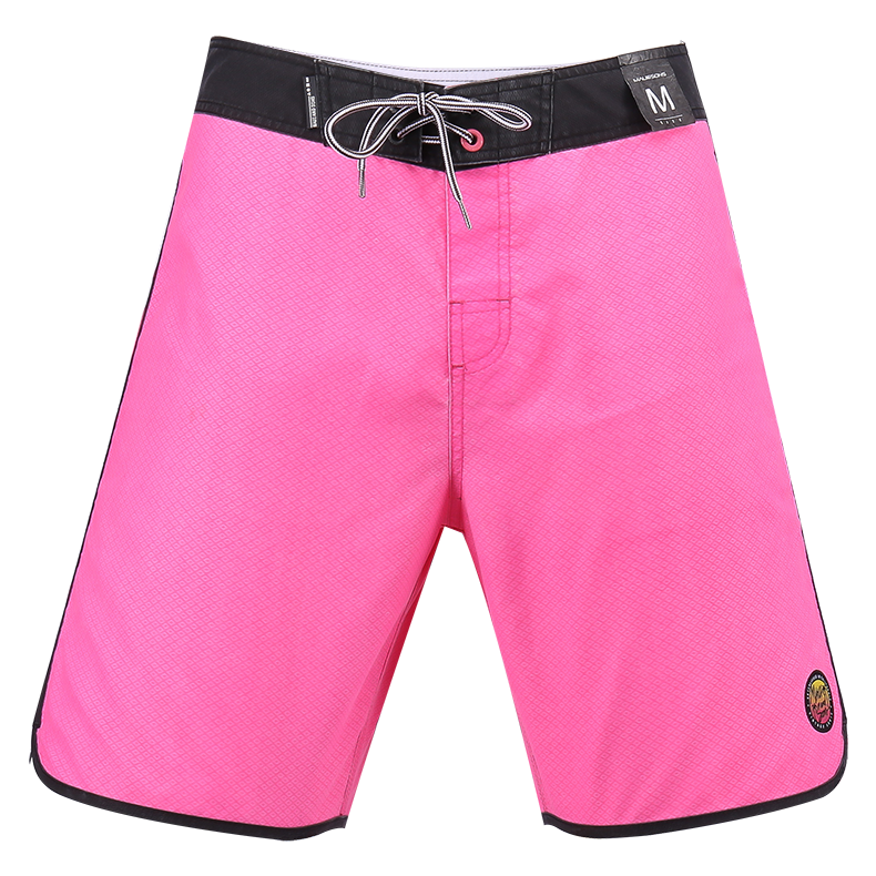 b11cae760d Shop Best New V-Waist Block 17 Outseam Men Board Shorts Pink Red For ...