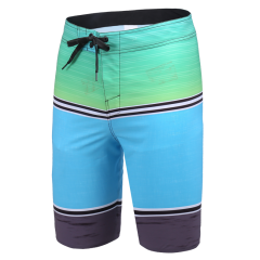 19 Men's Water Resistant Performance Swim Shorts Boardshort