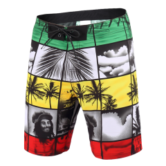 2019 Men's Water Resistant PERFORMANCE 18 Coconut Palm Prints