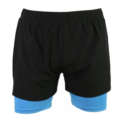 2-in-1 Men's 4 RUNNING SHORTS