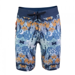 Men's Water Resistant PERFORMANCE Block Classical 18 Swim Shorts Boardshorts